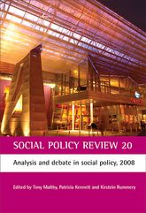 Social Policy Review 20Analysis and debate in social policy, 2008